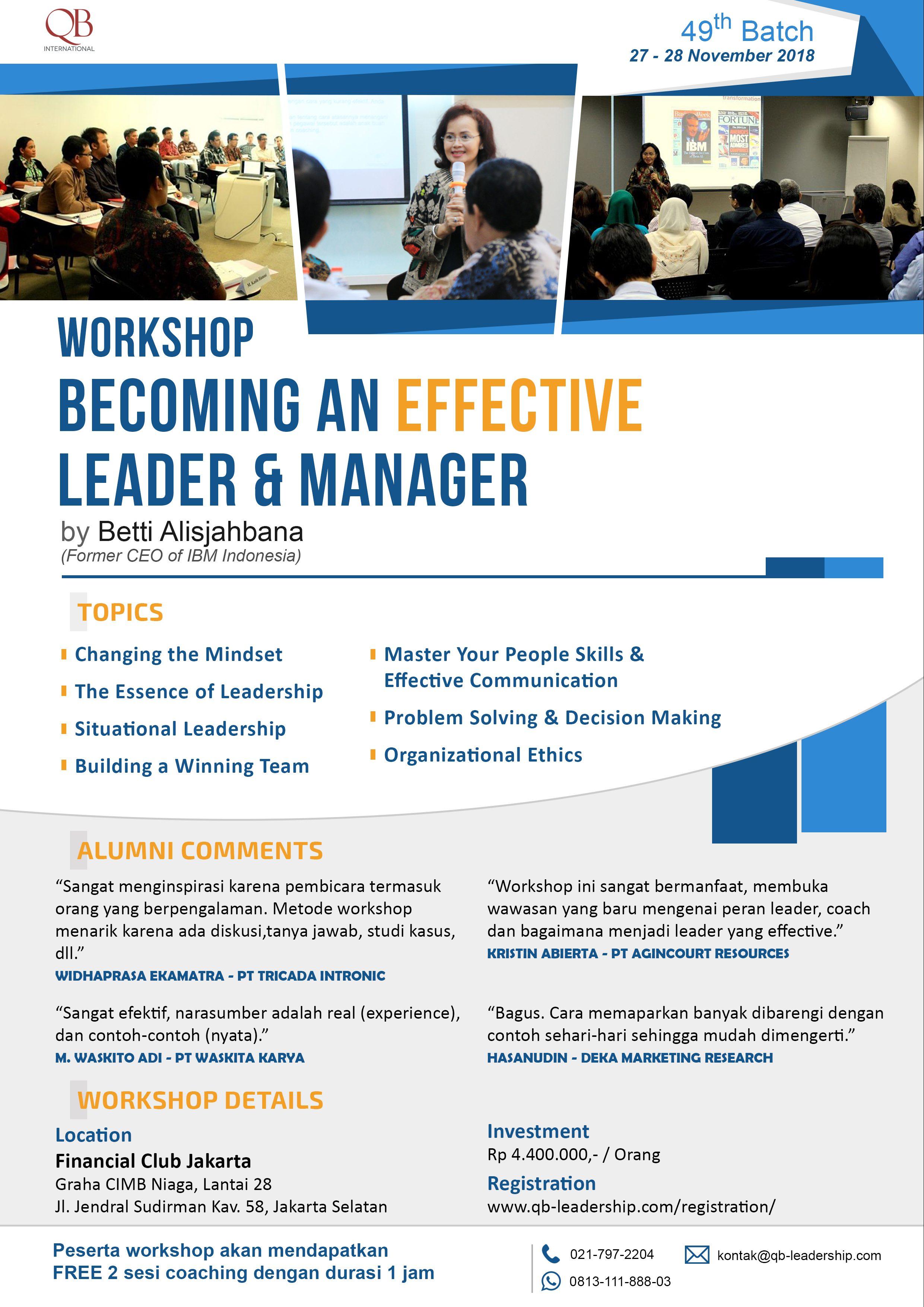 Leaflet Belm 49 Qb Leadership Center